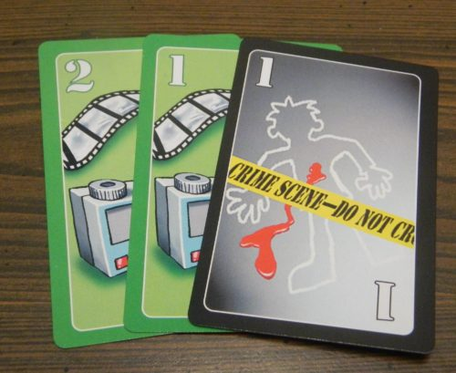 Crating a Meld in Lie Detector The Crime Fighting Card Game