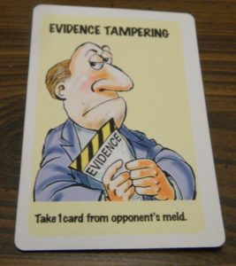 Evidence Tampering in Lie Detector The Crime Fighting Card Game