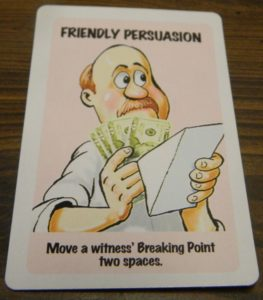 Friendly Persuasion Card in Lie Detector The Crime Fighting Card Game
