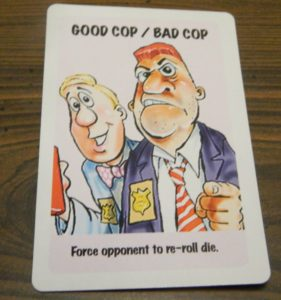 Good Cop Bad Cop Card in Lie Detector The Crime Fighting Card Game