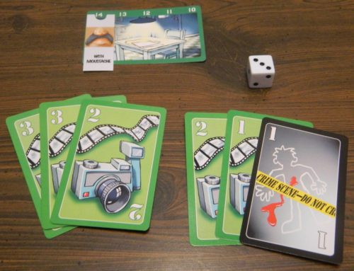 Roll Die in Lie Detector The Crime Fighting Card Game