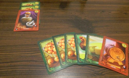 Discard Pile in Sheriff of Nottingham