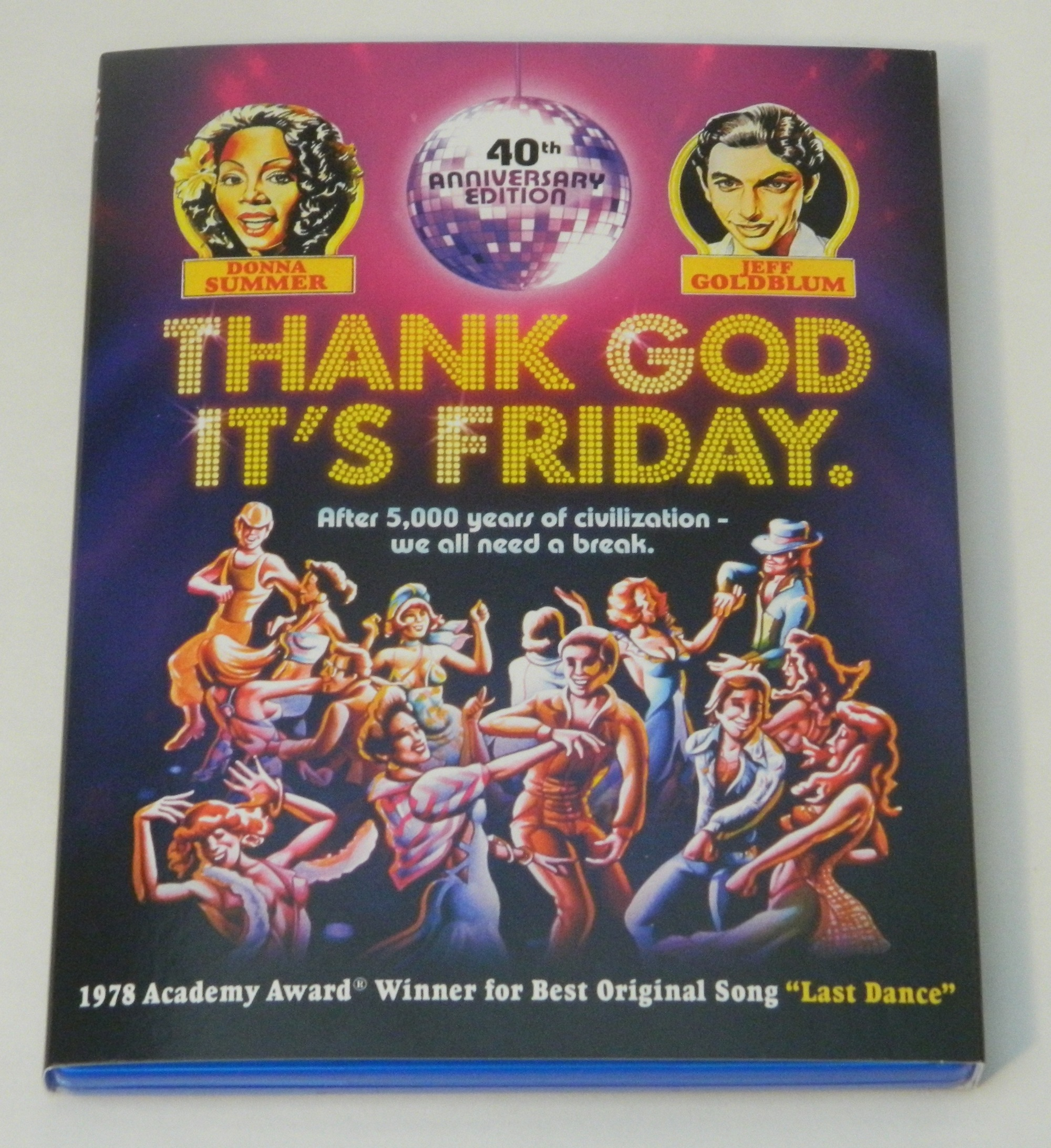 Thank God It's Friday Blu-ray