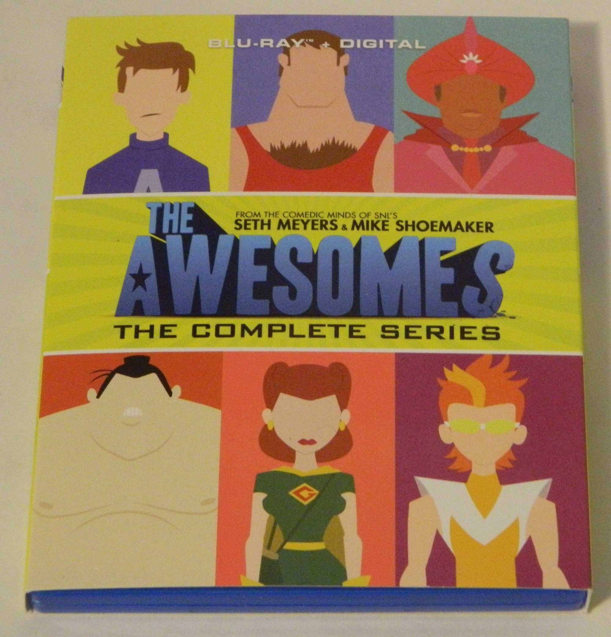 The Awesomes The Complete Series Blu-ray