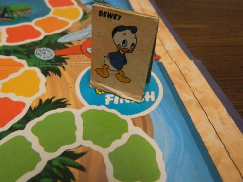 Finish in DuckTales Board Game