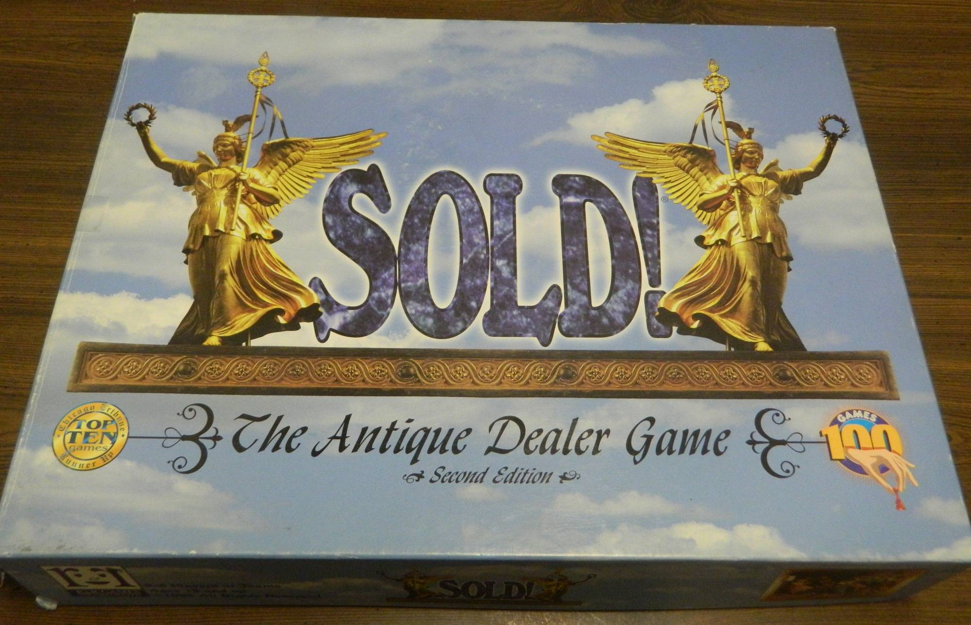 Box for Sold! The Antique Dealer Game