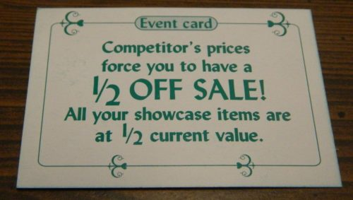 Competitor Card in Sold! The Antique Dealer Game
