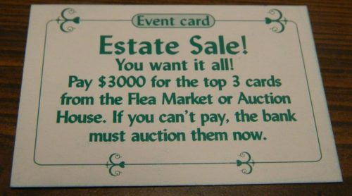 Estate Sale in Sold! The Antique Dealer Game
