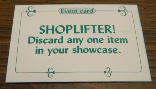 Shoplifter Card in Sold! The Antique Dealer Game