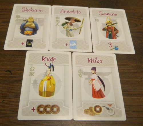 Encounter Cards in Tokaido