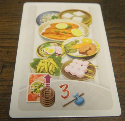 Gourmet Card in Tokaido