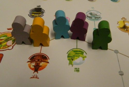 Movement in Tokaido