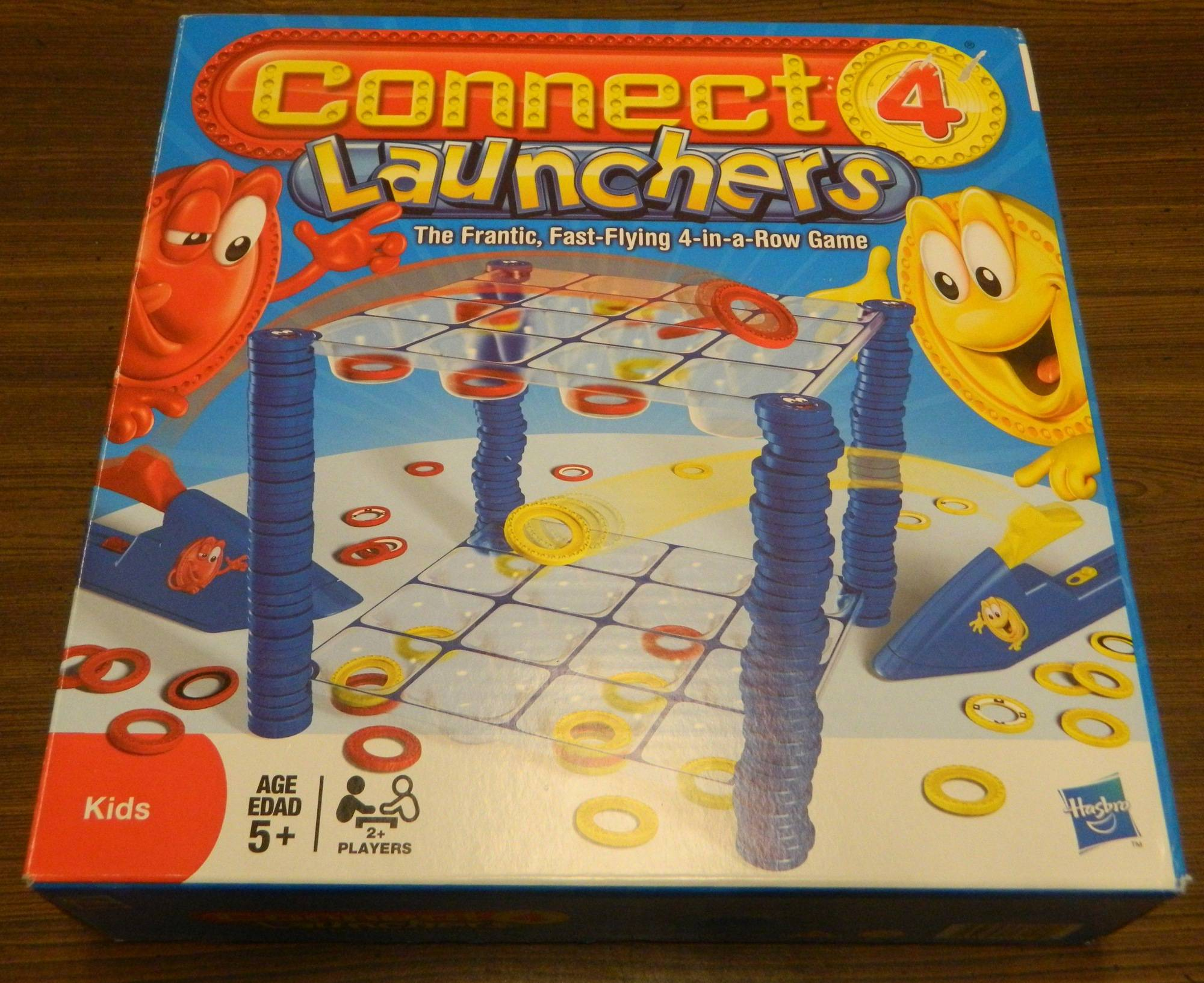 Box for Connect 4 Launchers