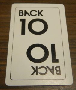 Back 10 Card in Doubletrack