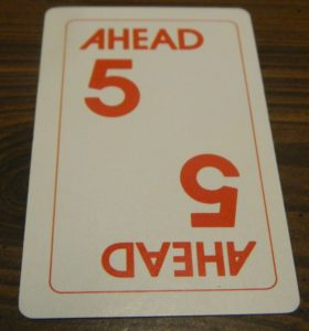 Number Card in Doubletrack