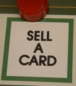 Sell A Card Space in Doubletrack