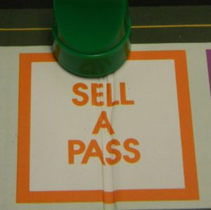Sell A Pass Space in Doubletrack