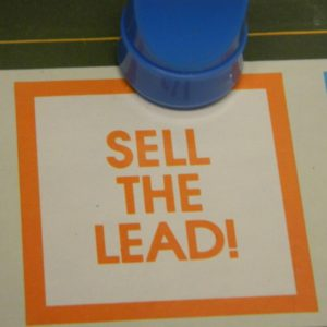 Sell the Lead Space in Doubletrack