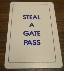 Steal A Gate Pass Card in Doubletrack