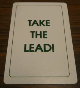 Take the Lead Card in Doubletrack