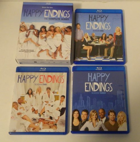 Happy Endings The Complete Series Blu-ray Contents