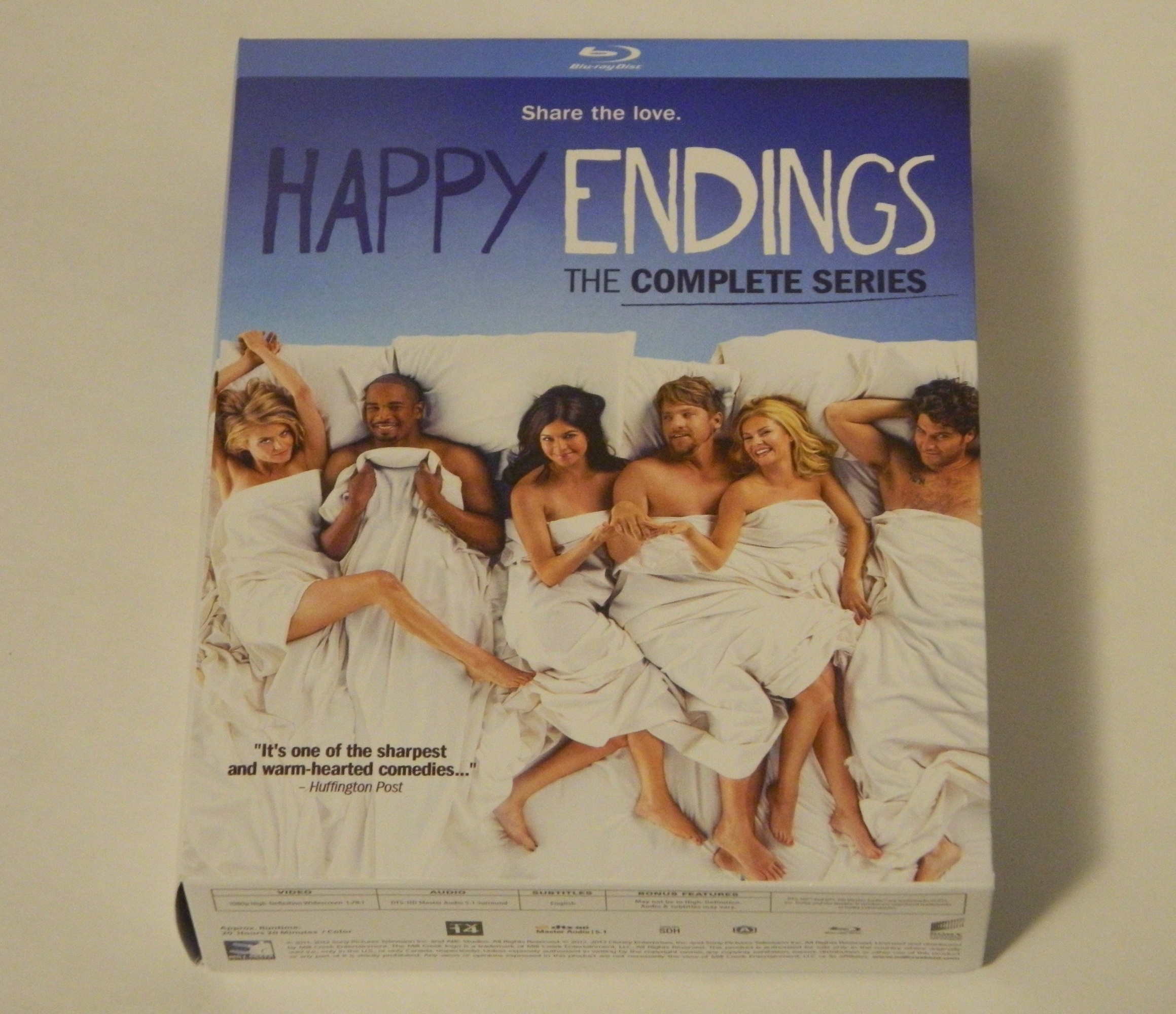 Happy Endings The Complete Series Blu-ray