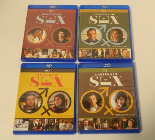 Masters of Sex The Complete Series Blu-ray Contents