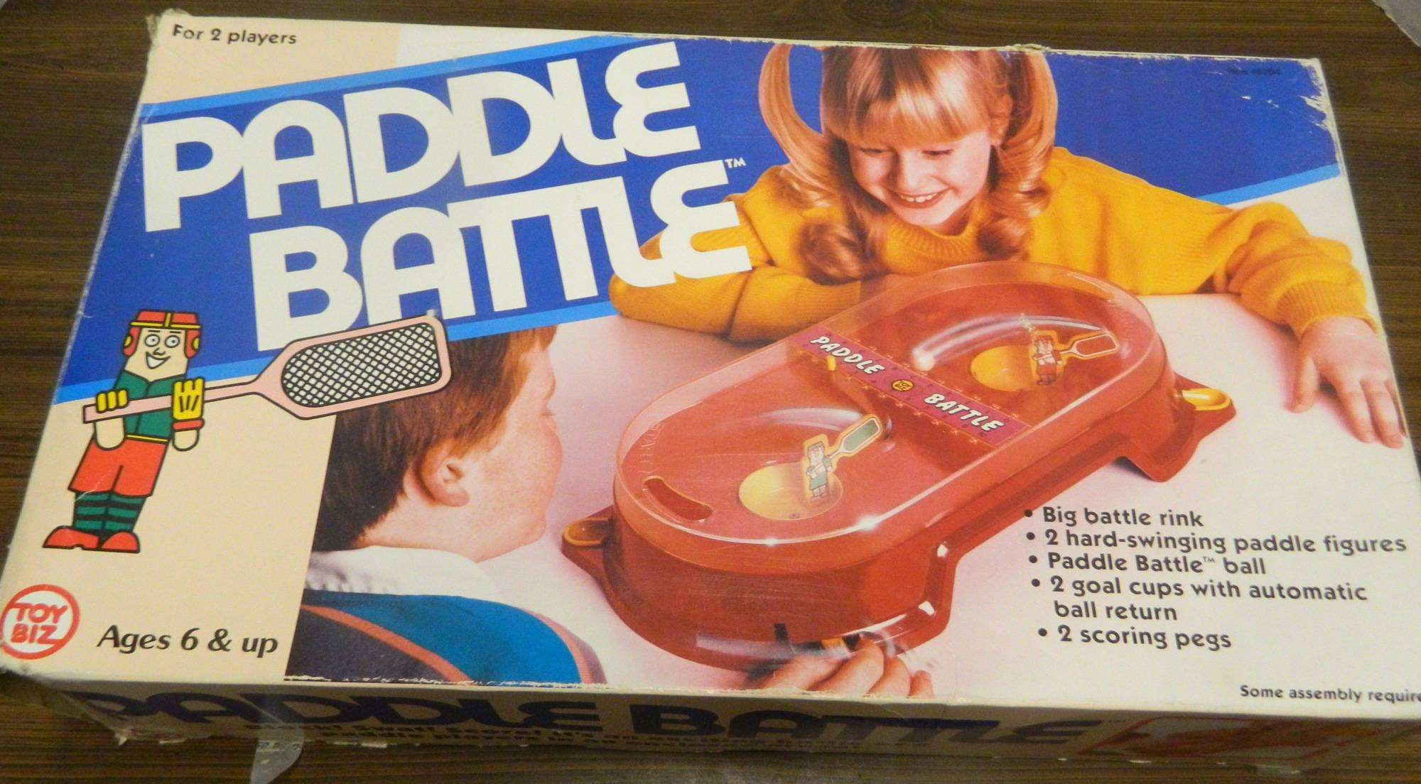 Box for Paddle Battle