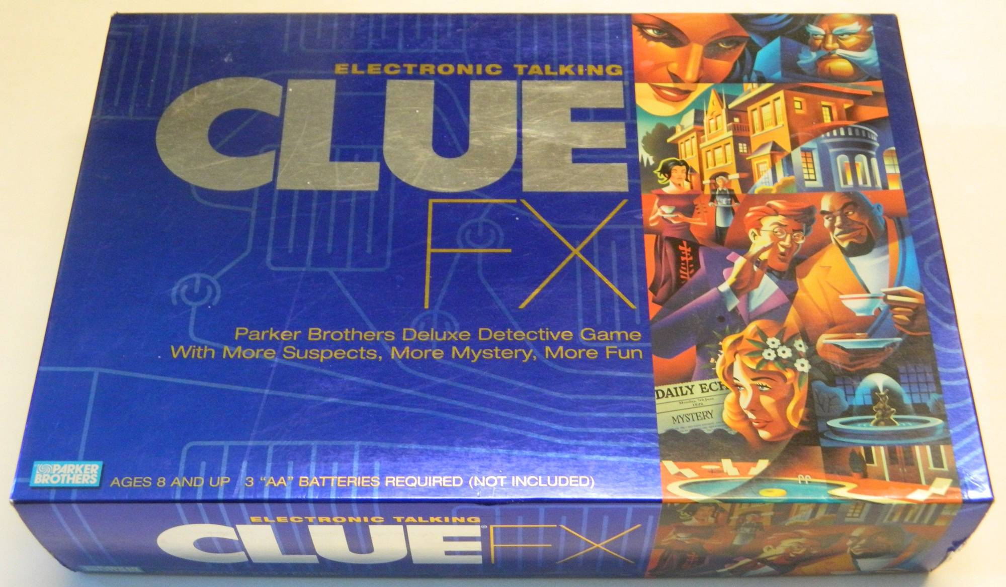 Clue and Cluedo: The Complete List of All Themed Games and