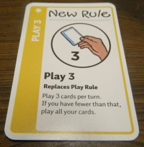 New Rule Card in Fairy Tale Fluxx