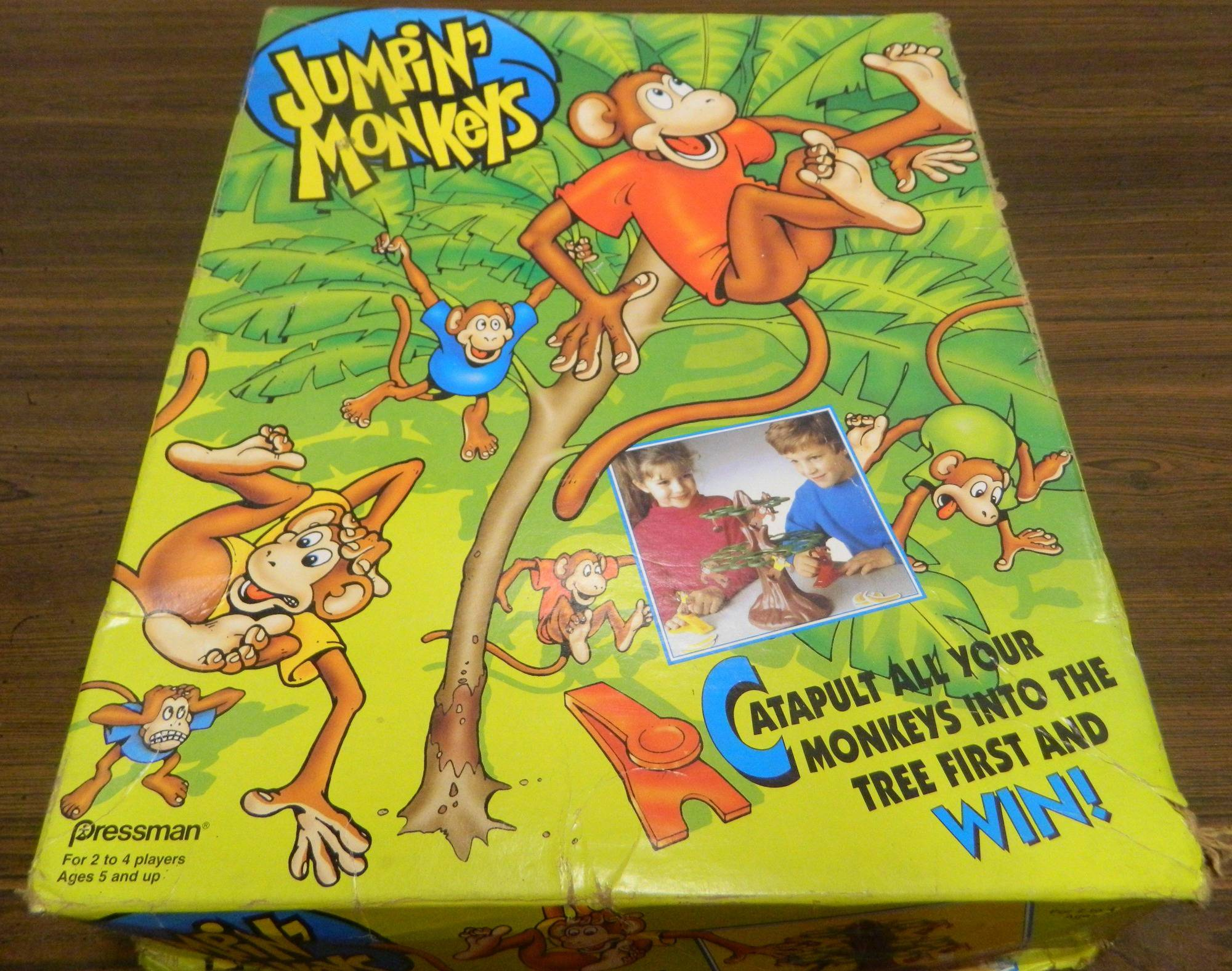 Box for Jumpin Monkey