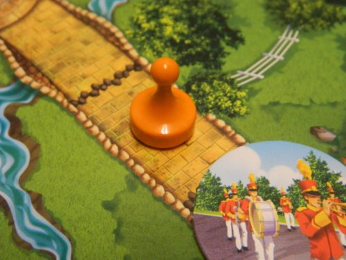 Open Road Space in Clue Mysteries
