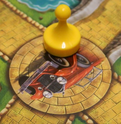 Vehicle Space in Clue Mysteries