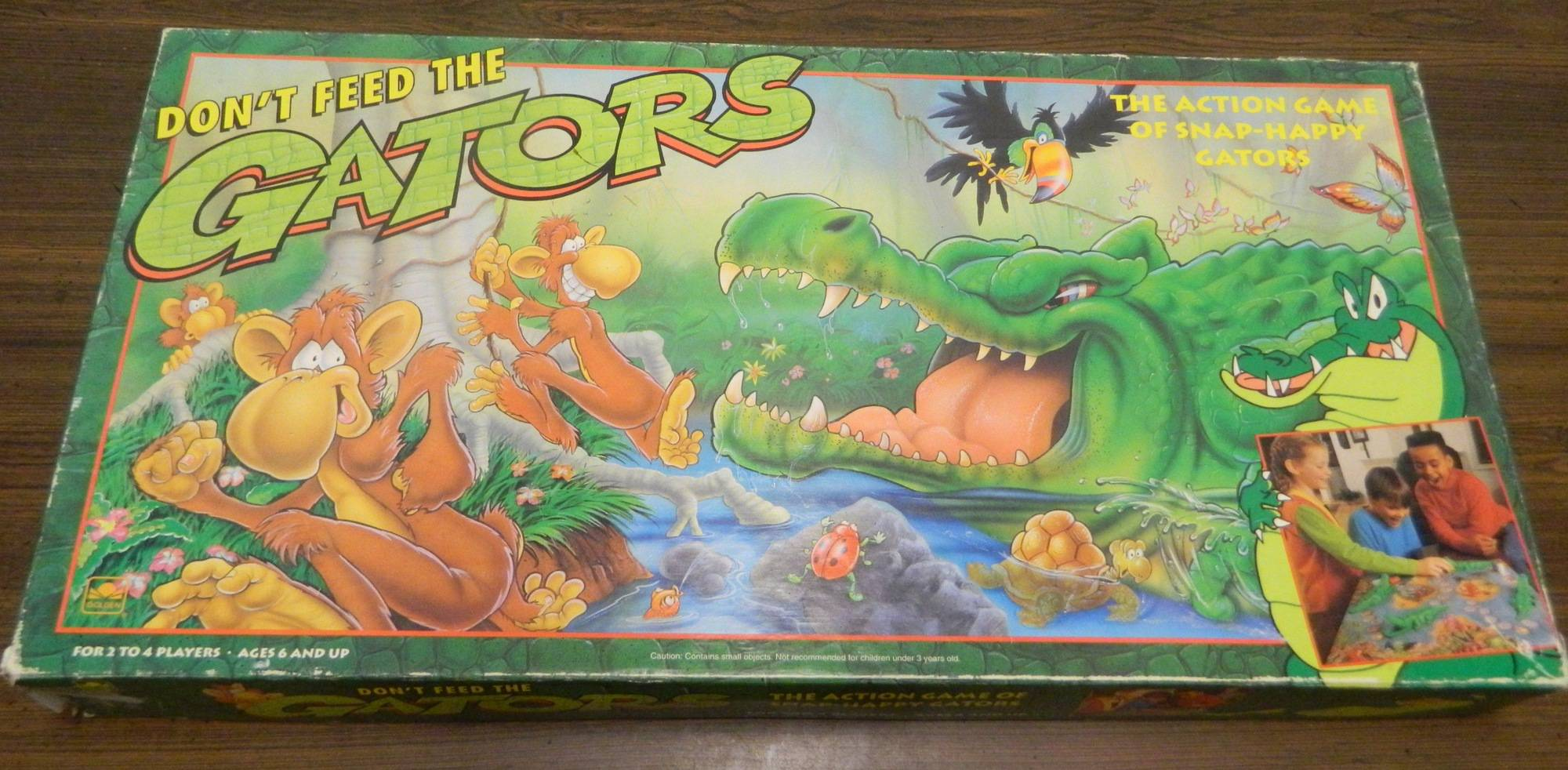 Box for Don't Feed the Gators