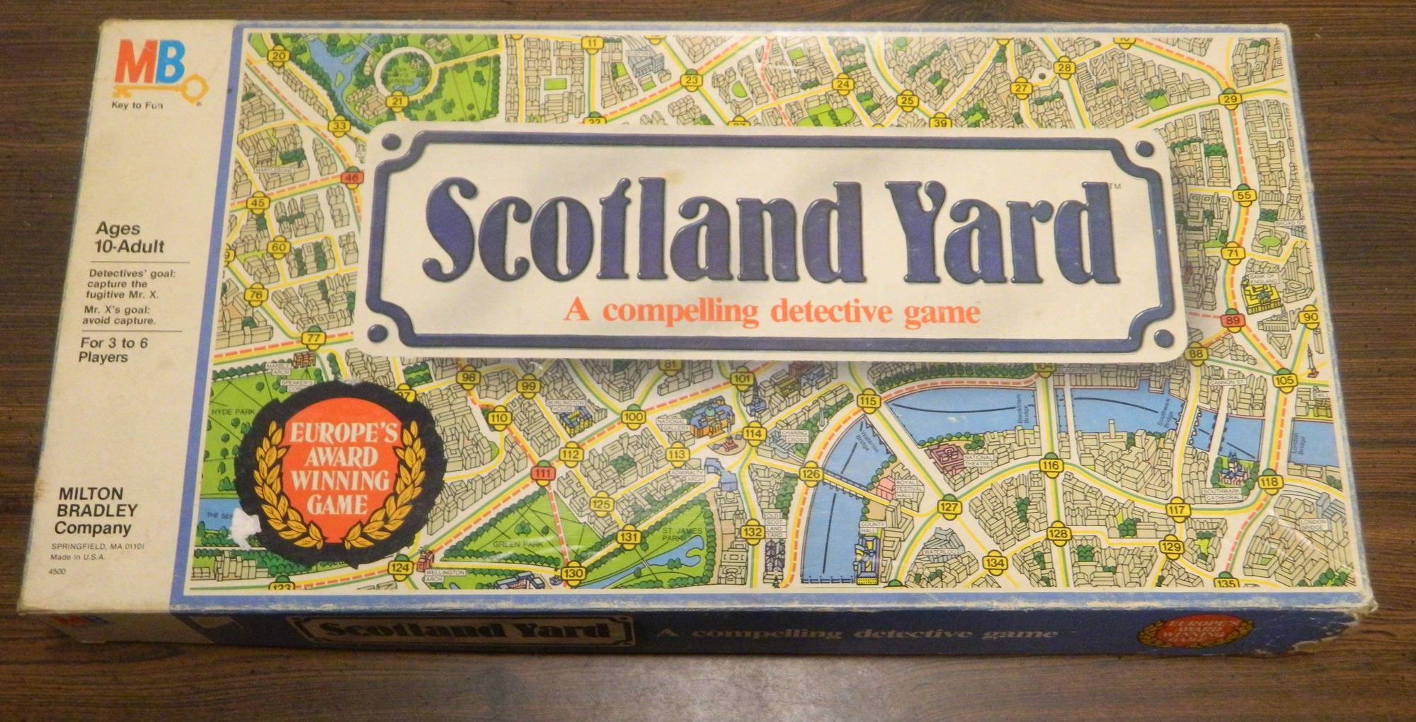 Box for Scotland Yard