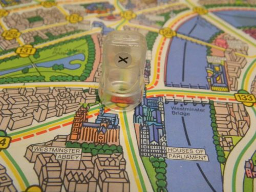 Mr. X Position in Scotland Yard