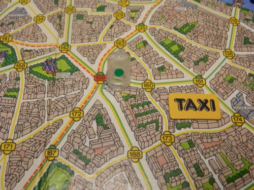 Taxi Movement in Scotland Yard