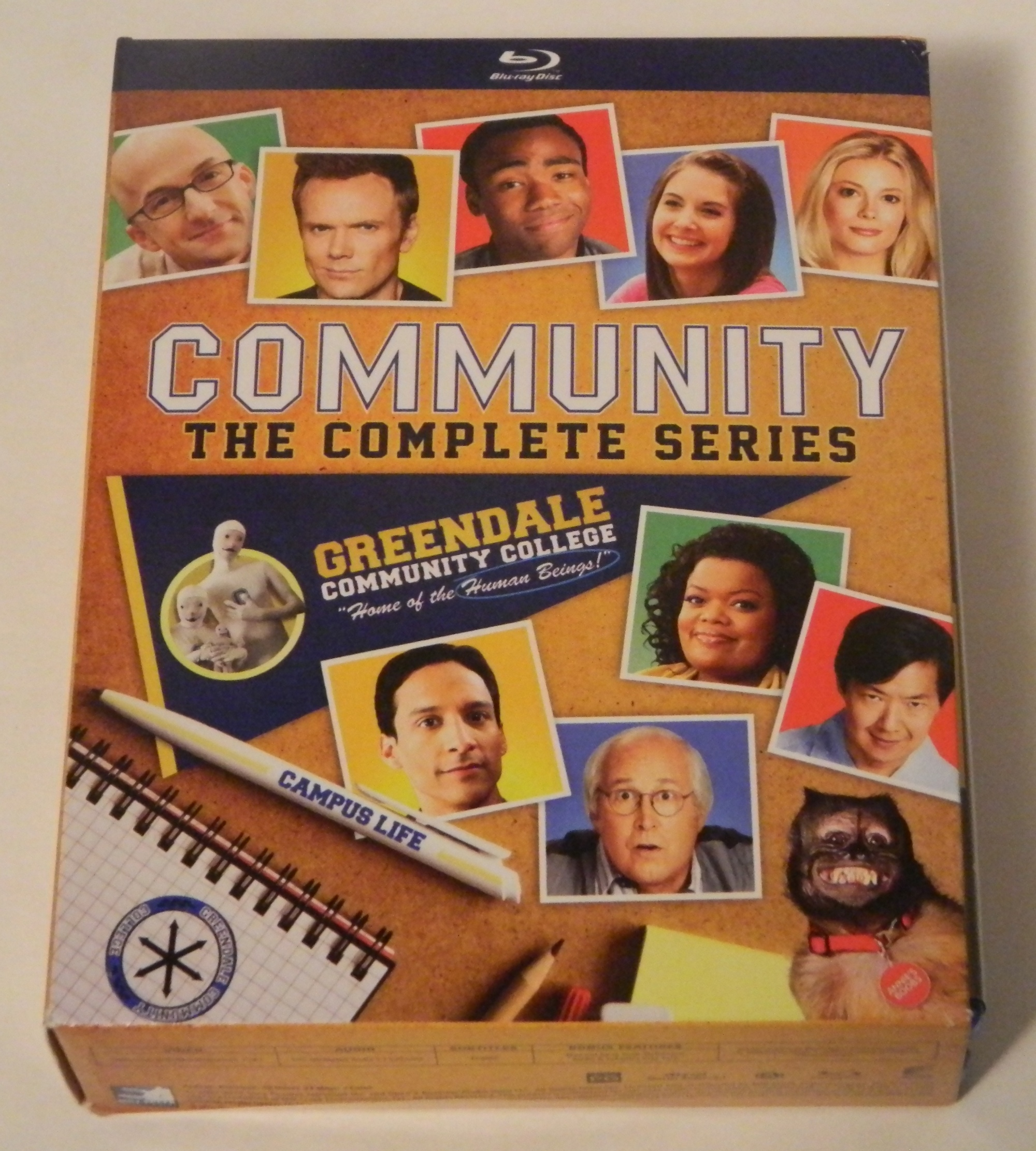 Community The Complete Series Blu-ray