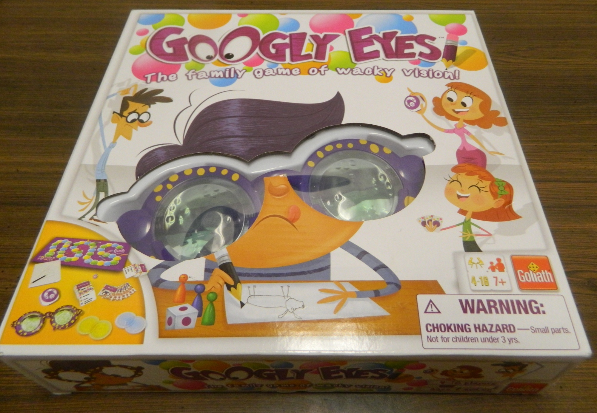 Box for Googly Eyes