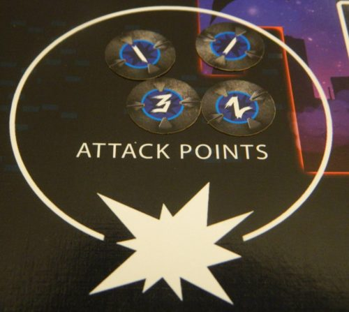 Attack Points in Monster Mania