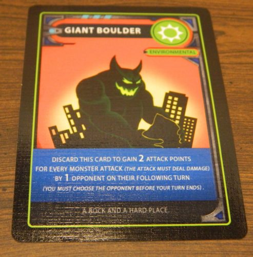 Environmental Card in Monster Mania
