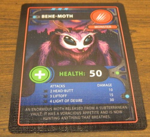 Monster Card in Monster Mania