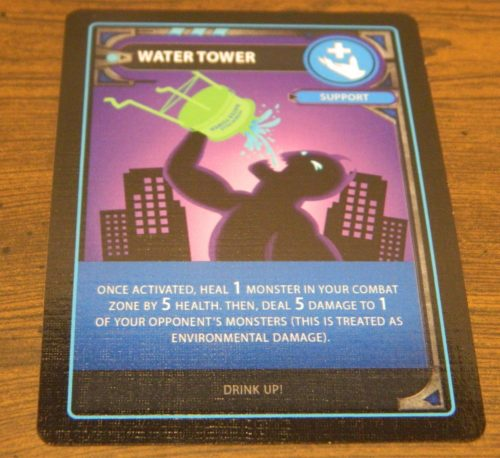 Support Card in Monster Mania