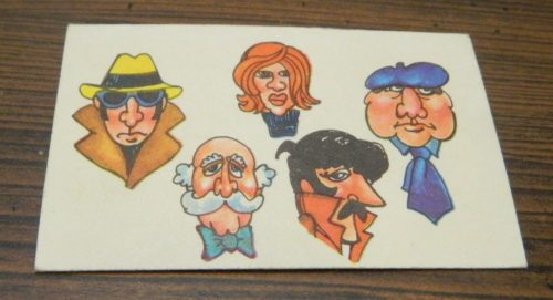 Clue Card in Benji Detective Game