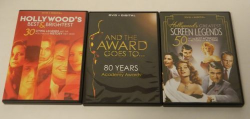 Golden History of Hollywood DVD Contents