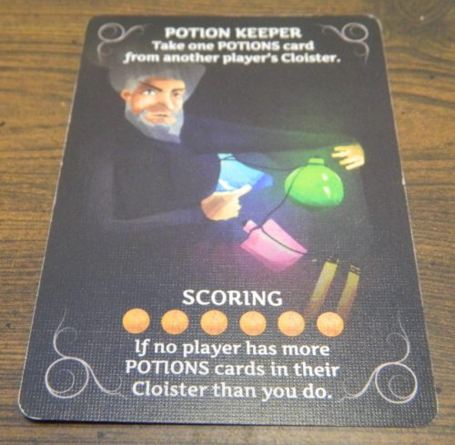 Character Card in Keep