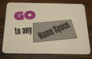 Go To Name Card in New Kids On The Block