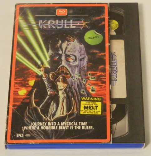 Krull Retro VHS Art Blu-ray