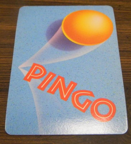 Playing A Card in Pingo Pongo