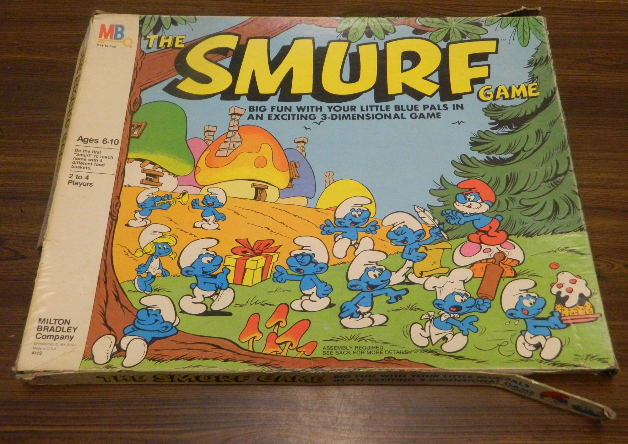 Box for The Smurf Game
